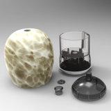 Difusor del aroma con la cubierta de cristal (HP-1009-A-1)