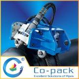 Il ciclo concatena il taglio automatico del tubo e la macchina di smussatura