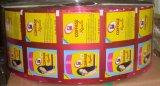 Pellicola del sacchetto laminata stampa variopinta per l'imballaggio degli spuntini