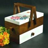 Подгонянная деревянная коробка ювелирных изделий для гостиницы