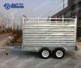 9X5 Cattle Crate Tandem Box Cage Trailer (SWT-CCT95)