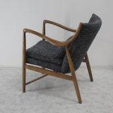 Da sala de visitas de madeira da mobília da alta qualidade cadeira confortável do sofá
