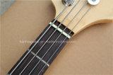 Guitare basse électrique de musique de Hanhai/4 chaînes de caractères avec le corps d'orme