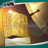 Le segment de diamant de qualité et scie des lames pour la pierre de découpage