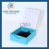 Caja de joyería clara elegante del papel hecho a mano (CMG-PJB-034)