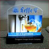 Helle acrylsauerbildschirmanzeige