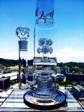 Hb Pijp van het Glas van Birdcage Perc van de Knoop van het Ontwerp van de Koning de Nieuwe met Groothandelsprijs