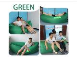 Aire inflable que llena la base perezosa de Lamzac Laybag del saco de dormir portable del plátano