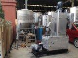 Het recycling van Plastic Ontwaterende Machine met het Wassen Functie