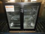 frigorifero nero della birra della barra di Undercounter del portello della cerniera di colore 208L
