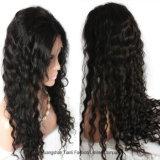 """24 """" pleines perruques de cheveux humains de lacet avec les coups #1#1b#2#4 150%"""