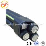 Cabo isolado /PE do pacote de /Aerial do cabo do serviço Cable/ABC de XLPE /PVC