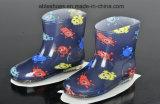 Новая девушка типа вычуры конструкции ягнится ботинки, PVC Rainboots