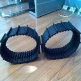 Piste en caoutchouc d'usine robot direct de fabrication de mini (60*12.7*66)
