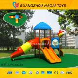 O equipamento pré-escolar ao ar livre do campo de jogos da qualidade excelente caçoa o campo de jogos ao ar livre (HAT-004)