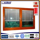 Portas deslizantes do obturador / persiana de alumínio, janela do obturador