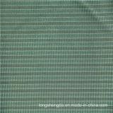 Tela al aire libre tejida 100% del poliester del telar jacquar de Oxford de la verificación del llano de la tela escocesa de la tela cruzada (X045)