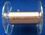Fita de poliéster Fio de folha de cobre Produtos de eixo muito fino em rolo pequeno para cabo USB3.0