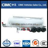 Cimc 3車軸45cbmバルクセメントタンク