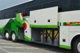 Vettura lunga del bus di lusso professionale del rifornimento delle rotelle 6*2 6
