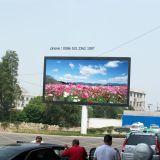 Carteleras de la calle P31.25 que hacen publicidad de la visualización de LED a todo color