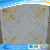 Colorful  Gypsum  Ceiling  595*595*9mm를 타일을 붙인다