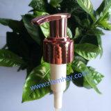 Pompe pourprée en plastique de lotion pour les bouteilles crèmes de shampooing/de Bath