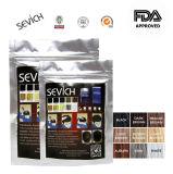Colore del nero del prodotto delle fibre della costruzione dei capelli dell'OEM della bottiglia della polvere dei capelli