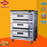 Luxo 3-Deck 6-Tray Gas Pizza Oven (CE)