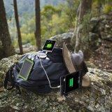 Het zonne Pak van de Macht van de Lader van de Batterij USB van de Bank 10000mAh van de ZonneMacht van de Lader Draagbare Dubbele Externe Reserve voor GPS van de Camera Cellphone Tabletten en Andere 5V Apparaten van USB