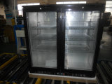 208L黒いカラーヒンジのドアのUndercounter棒ビール冷却装置