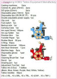 Kits profesionales del tatuaje con la fuente de alimentación de los accesorios de la ametralladora del tatuaje