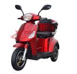 Triciclo elétrico aprovado da CEE de 3 rodas para pessoas idosas