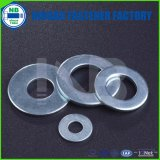 DIN125A Arandelas Cr + 3 Azul-Blanco chapado en zinc