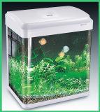 점화와 여과 시스템 (HL-ATC85)를 가진 지적인 Touch-Screen 통제 커피용 탁자 유리제 수족관 어항