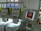 A Multi-Cabeça 8 de Wonyo dirige máquina computarizada 9 & 12 cores do bordado com o painel de controle de Dahao/Topwisdom
