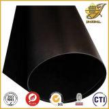 Hoja rígida opaca negra del PVC