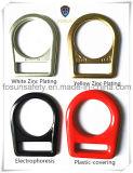 Clips D en métal d'accessoires de harnais de sûreté (H210D)