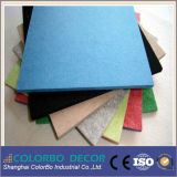 Paneles Decoración Material de fibra de poliéster de pared acústicos (prueba de sonido)
