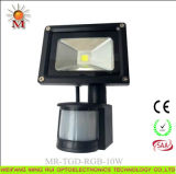 세륨을%s 가진 10W-50W LED Interaction Flood Light, RoHS, SAA Certification