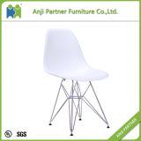 ホームデザイン(ヒース)のための良質のオレンジプラスチック食事の椅子