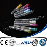 使い捨て可能な皮下注射針(15-31G)