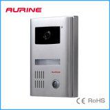 IP45 impermeabilizzano il video citofono dell'entrata del campanello per porte della macchina fotografica di alluminio di HD