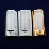 Luz de interior del hotel de sensor del control LED de la iluminación LED de la luz infrarroja de la pared