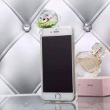 Transparenter flüssiger Quicksand-Fallhammer-Telefon-Kasten für iPhone 7/6s