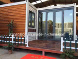 Casa móvil barata/chalet prefabricados/prefabricados para la gente del día de fiesta