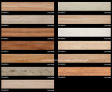 azulejo de suelo de madera del grano de la inyección de tinta 3D 180*1080 Rd108b036