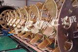 Máquina del chapado en oro del vacío de Hcvac para el tubo inoxidable de la hoja de acero