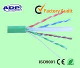 高品質4つのペアCAT6 UTP LANケーブル