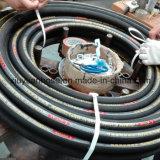 boyau en caoutchouc hydraulique flexible du pétrole 902-4s à haute pression spiralé